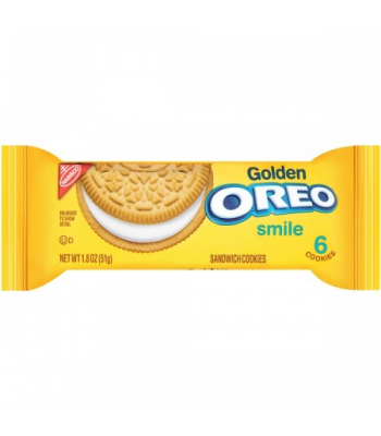 Clearance Special - Golden oreo Cookies Snack Pack 1.8oz ** March 2017 ** Clearance Zone