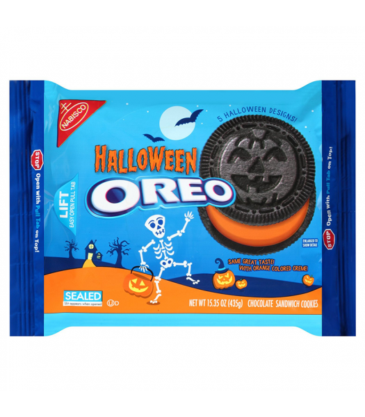 Clearance Special - Oreo - Halloween Cookies - 15.35oz (435g) **Best Before: 05 December 17** Clearance Zone