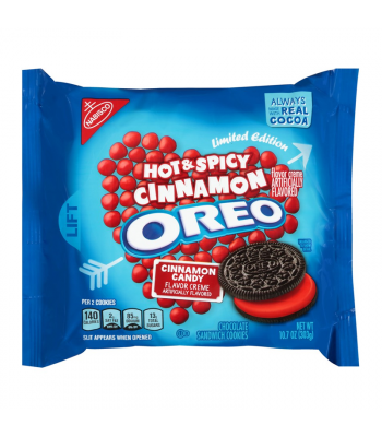 Oreo Hot & Spicy Cinnamon - 10.7oz (303g) Cookies and Cakes Oreo