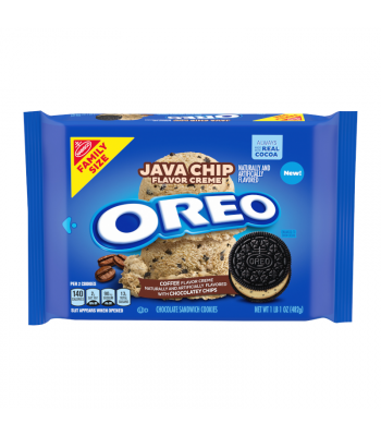 OREO Java Chip Family Size 17oz (482g) Cookies and Cakes Oreo