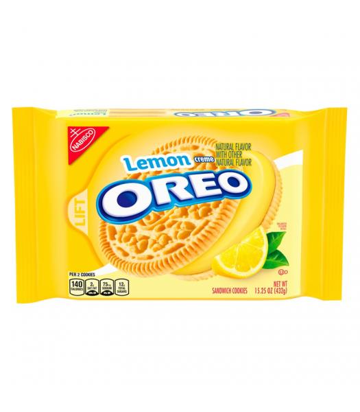 Oreo Lemon Creme - 15.25oz (432g) Cookies and Cakes Oreo