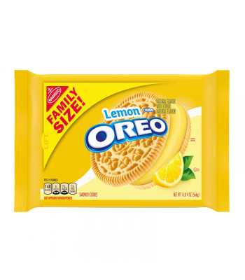 Clearance Special - Oreo Lemon Family Size - 20oz (566g) **Best Before: 2 November 21** Clearance Zone