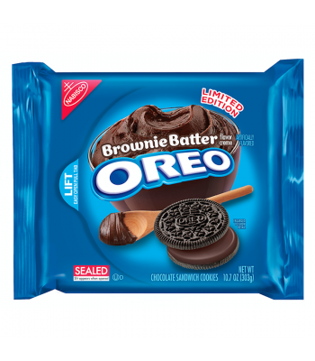 Clearance Special - Oreo Brownie Batter Cookies 10.7oz (Best Before: 02 Feb 2016)