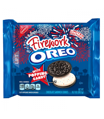 Oreo Firework - Limited Edition - 10.7oz (303g) Cookies & Biscuits Oreo