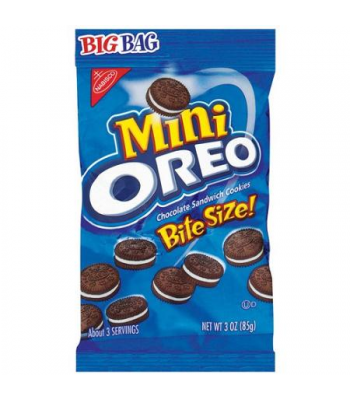 Oreo Mini Big Bag 3oz (85g) Cookies and Cakes Oreo