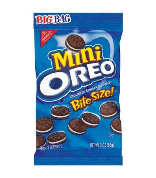 Oreo Mini Big Bag 3oz (85g) Cookies and Cakes Oreo