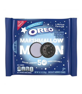 Oreo Limited Edition Moon Landing 50th Anniversary - 10.7oz (303g)   Cookies and Cakes Oreo