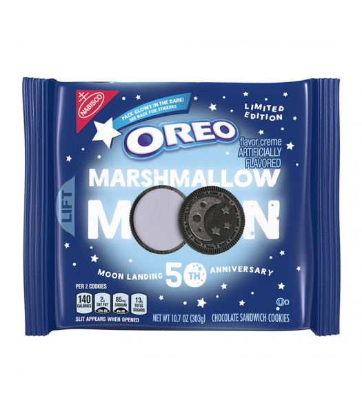 Clearance Special - Oreo Limited Edition Moon Landing 50th Anniversary - 10.7oz (303g) **Best Before: Feb 20* Clearance Zone