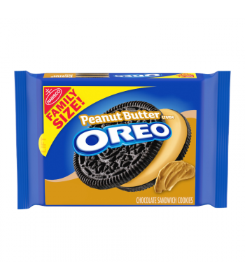 Oreo Peanut Butter Family Size - 17oz (482g) Cookies and Cakes Oreo
