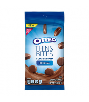 Oreo Thins Bites Fudge Dipped Original - 1.7oz (48g) Cookies and Cakes Oreo