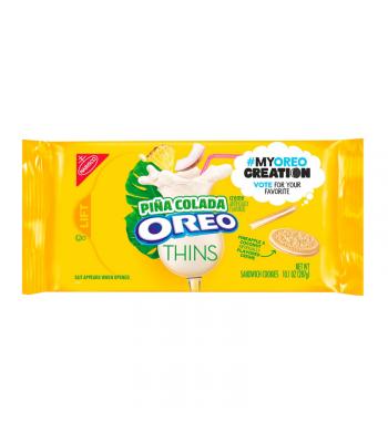 Oreo Thins Pina Colada - 10.1oz (287g) Cookies and Cakes Oreo