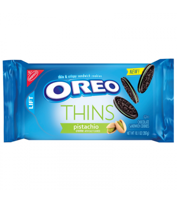 Oreo Thins Pistachio - 10.1oz (287g) Cookies and Cakes Oreo