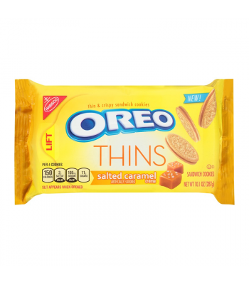Oreo Thins Salted Caramel - 10.1oz (287g) Cookies and Cakes Oreo
