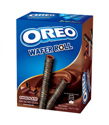 Oreo Chocolate Wafer Rolls (54g) Sweets and Candy Oreo