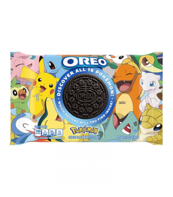 OREO x Pokémon Limited Edition Chocolate Cookies - 15.25oz (432g) Cookies & Biscuits Oreo