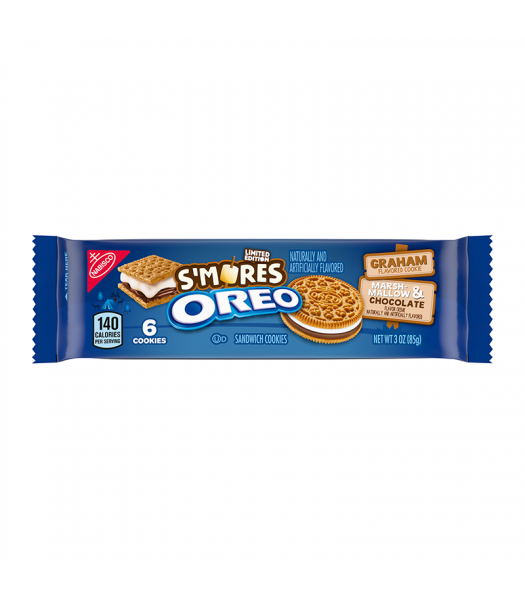 Oreo Limited Editon S'mores Share Size - 3oz (85g) Cookies and Cakes Oreo