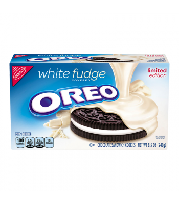 Oreo White Fudge Covered Cookies 8.5oz (240g) Cookies and Cakes Oreo