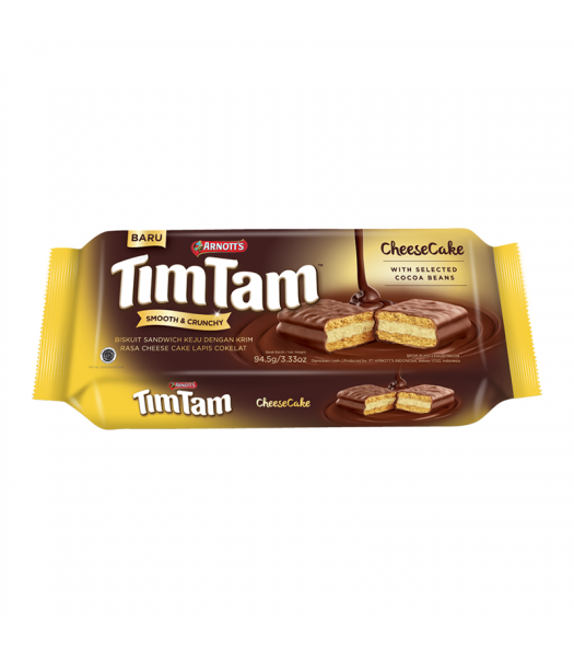 Arnott's Tim Tam Cheesecake - 3.33oz (94.5g) Cookies and Cakes