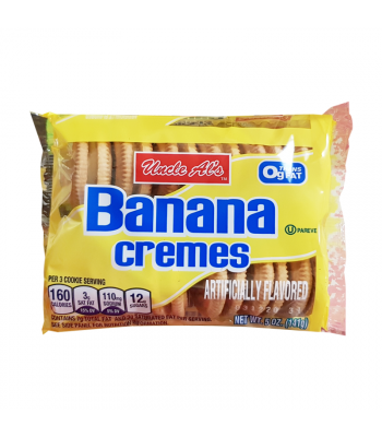 Uncle Al's Banana Cremes - 5oz (141g) Cookies and Cakes Bud's Best