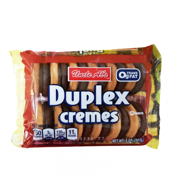Uncle Al's Duplex Cremes - 5oz (141g) Cookies and Cakes Bud's Best
