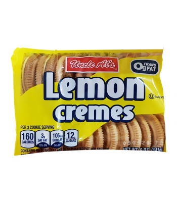 Uncle Al's Lemon Cremes - 5oz (141g) Cookies and Cakes Bud's Best