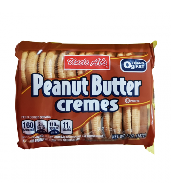 Uncle Al's Peanut Butter Cremes - 5oz (141g) Cookies and Cakes Bud's Best