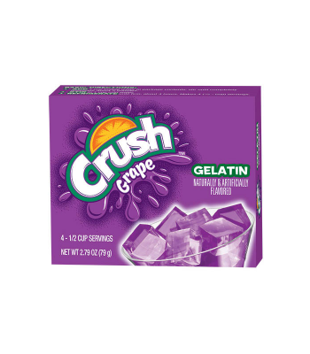 Crush Gelatin Grape Mix 2.79oz (79) Jelly & Puddings Crush