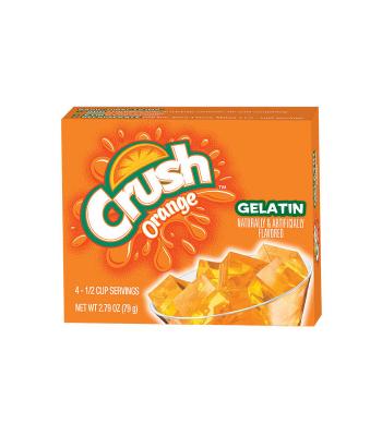 Crush Gelatin Orange 2.79oz (79g) Jelly & Puddings Crush