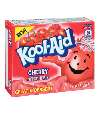 Kool Aid Cherry Jelly Mix 3oz (85g) Jelly & Puddings Kool Aid