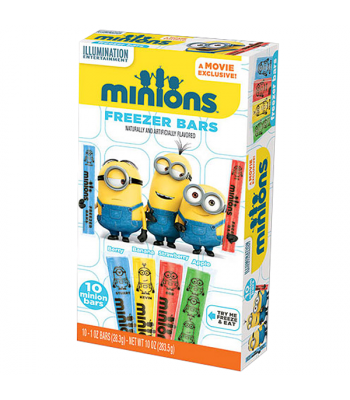 Minions Freezer Bars 10-Pack 1oz (28.3g) Freezer Bars