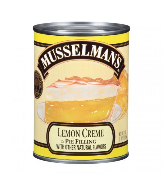 Musselman's Lemon Crème Pie Filling - 21oz (595g) Food and Groceries Musselman's
