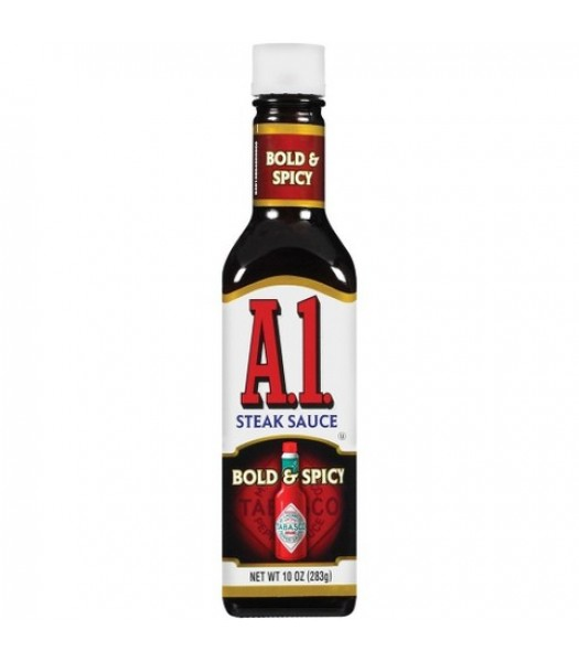 A1 Bold & Spicy Steak Sauce - 10oz (283g) Food and Groceries A1