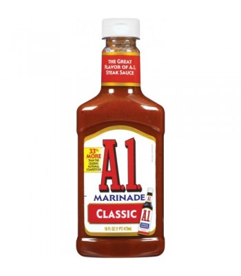 A1 Classic Steakhouse Marinade - 454g Sauces & Condiments A1