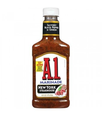A1 New York Steakhouse Marinade - 454g Food and Groceries A1