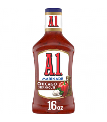 Clearance Special - A1 Chicago Steakhouse Marinade - 16fl.oz (473ml) **Best Before: 16 September 21** Food and Groceries A1