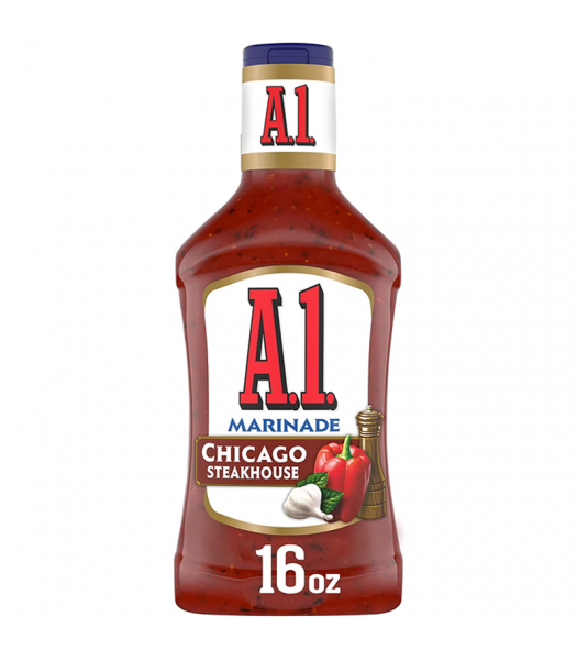 A1 Chicago Steakhouse Marinade - 16fl.oz (473ml) Food and Groceries A1