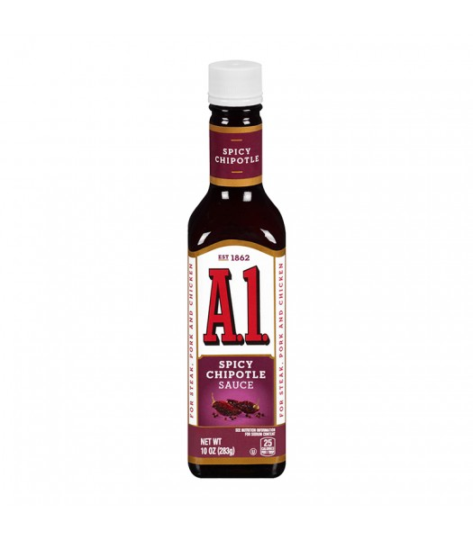 A1 Steak Sauce Spicy Chipotle 10oz (283g) Food and Groceries A1