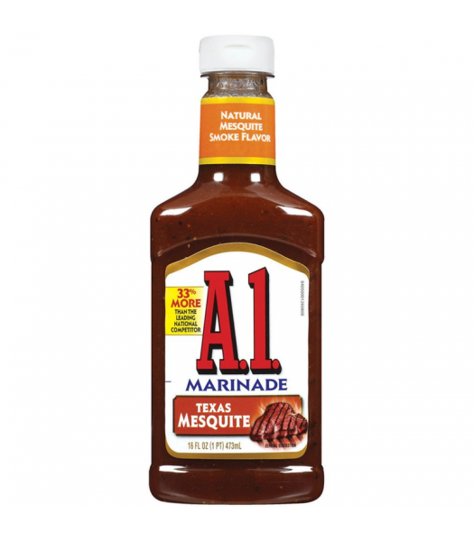 A1 Texas Mesquite Marinade - 16fl.oz (473ml) Food and Groceries A1