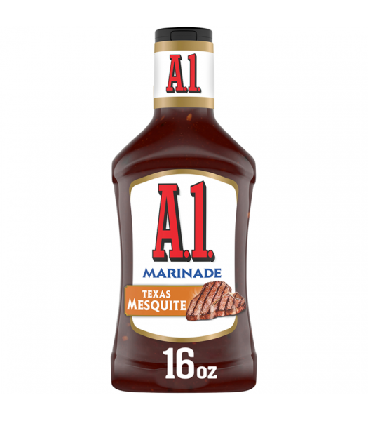 Clearance Special - A1 Texas Mesquite Marinade - 16fl.oz (473ml) **Best Before: 26 August 21** Clearance Zone