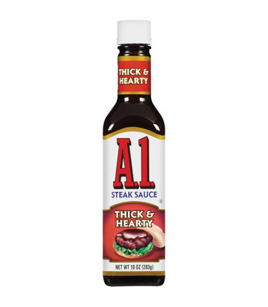 A1 Thick & Hearty Steak Sauce - 10oz (283g) Food and Groceries A1