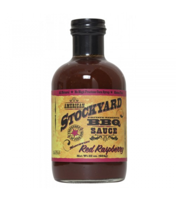 American Stockyard Red Raspberry BBQ Sauce 14.5oz (411g)