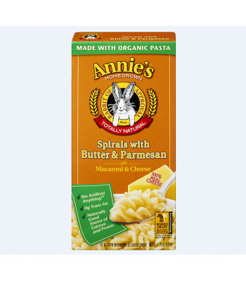 Annie's Spirals with Butter & Parmesan - 5.25oz (149g) Food and Groceries