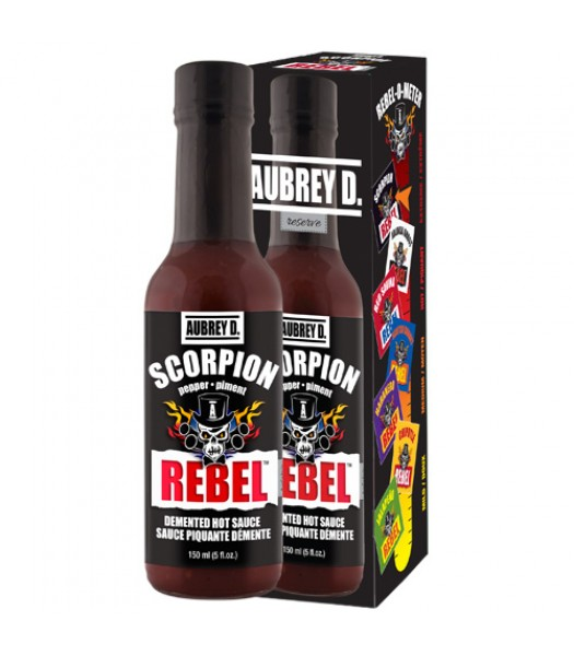 Aubrey D Rebel Scorpion Hot Sauce (150ml) Food and Groceries Aubrey D