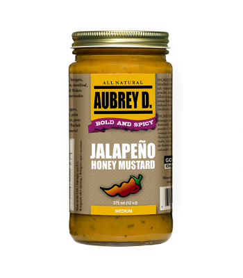 Aubrey D Jalapeno Honey Mustard (375ml) Food and Groceries Aubrey D