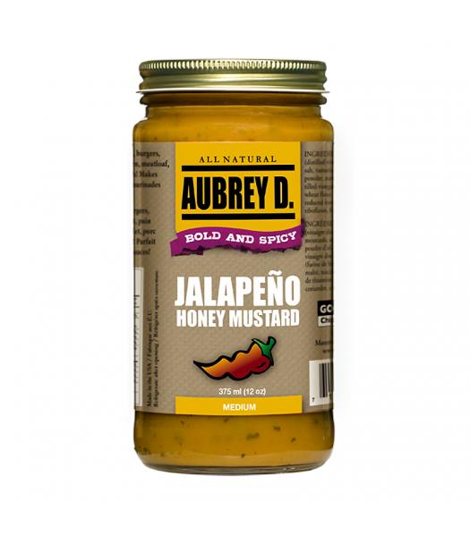 Aubrey D Jalapeno Honey Mustard (375ml) Food and Groceries Aubrey D