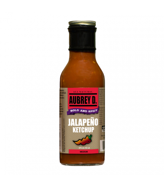 Aubrey D Jalapeno Ketchup (375ml) Food and Groceries Aubrey D
