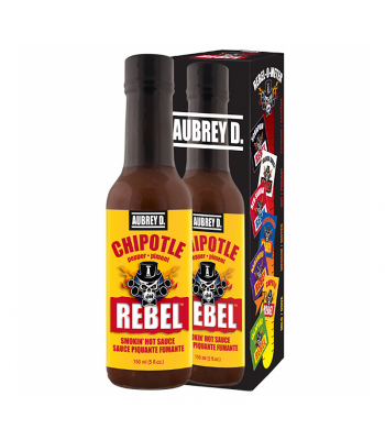 Aubrey D Rebel Chipotle Hot Sauce (150ml) Food and Groceries Aubrey D