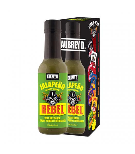 Aubrey D Rebel Jalapeno Hot Sauce (150ml) Food and Groceries Aubrey D