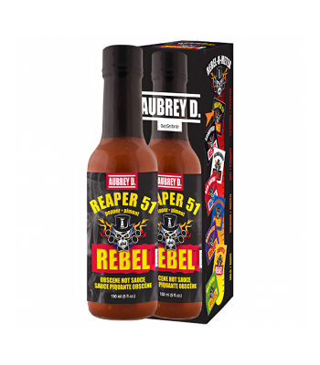 Aubrey D Rebel Reaper 51 Hot Sauce (150ml) Food and Groceries Aubrey D