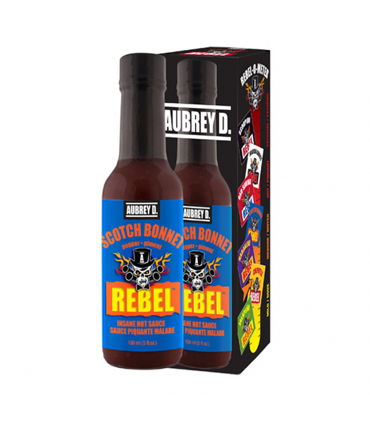 Aubrey D Rebel Scotch Bonnet Hot Sauce (150ml) Canadian Products Aubrey D